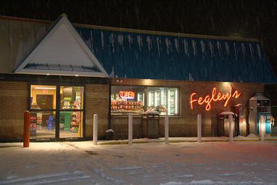 Location of Armed Robbery, Fegley's Mini Mart, Tamaqua (1-20-2012)