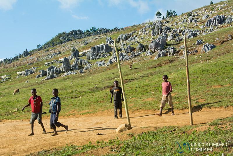 Soccer in the Hills - Haiti