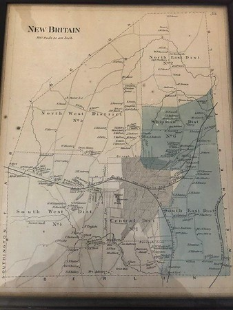 Week 3 Quiz Old Map of New Britain