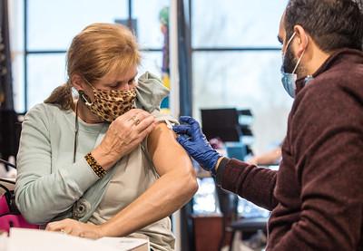 Piedmont Vaccinates Oconee Teachers