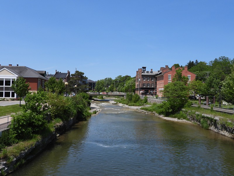 Ganaraska River in Port Hope