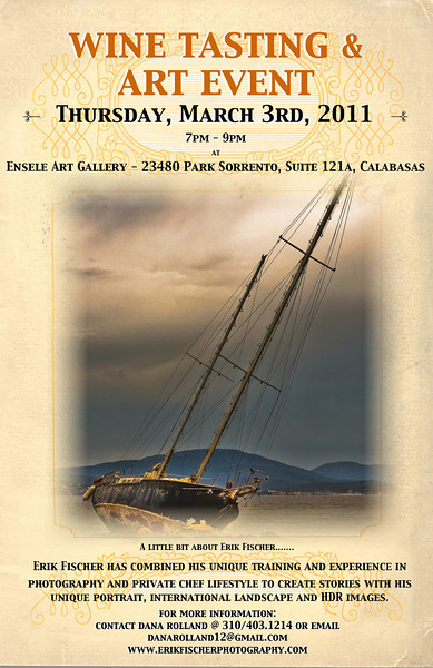 Ensele Art Gallery--- Art Show & Wine Tasting --- March 2011