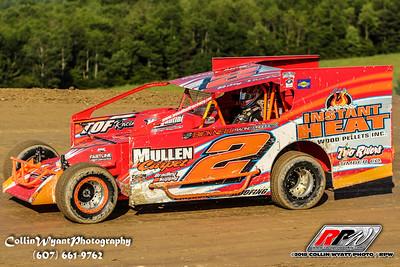 Woodhull Raceway - 6/16/18 - Collin Wyatt
