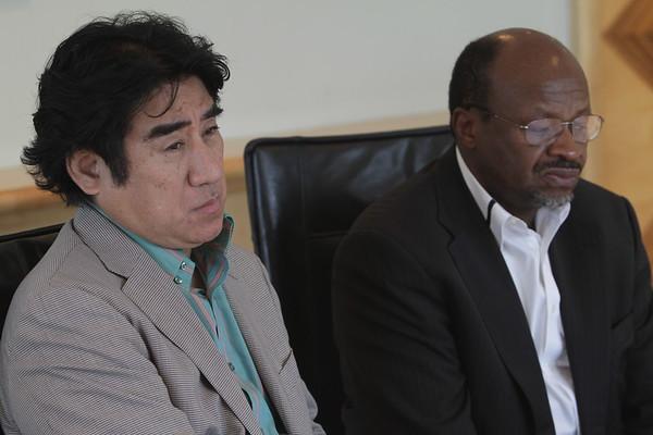 Dr. Haruhisa Handa Meets Jacob Zuma Foundation