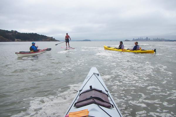 Angel Island Kayak: May 29, 2017