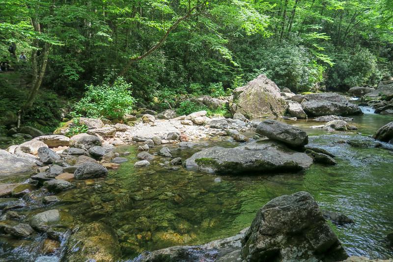East Fork Pigeon River -- 3,950'
