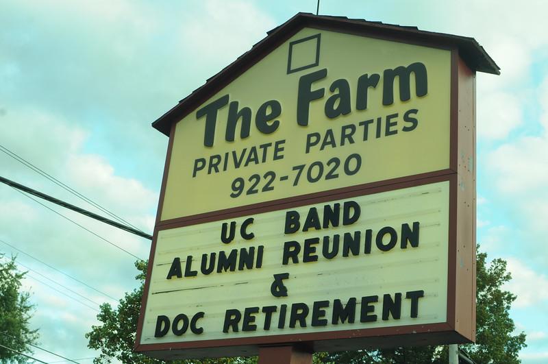 UC Band Alumni Reunion_Doc Retirement_The Farm_Cincinnati, OH