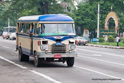 Walking in Yangon pt 1 - August 2010