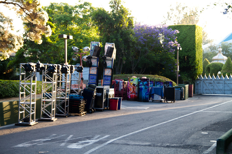 Gradnight Equipent Behind It's A Small World