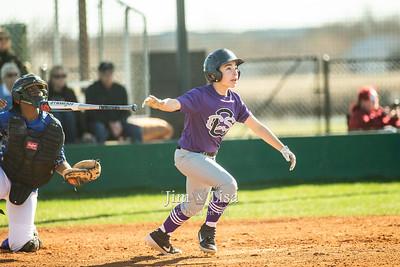 Baseball (8th Grade) vs Millwood, March 10
