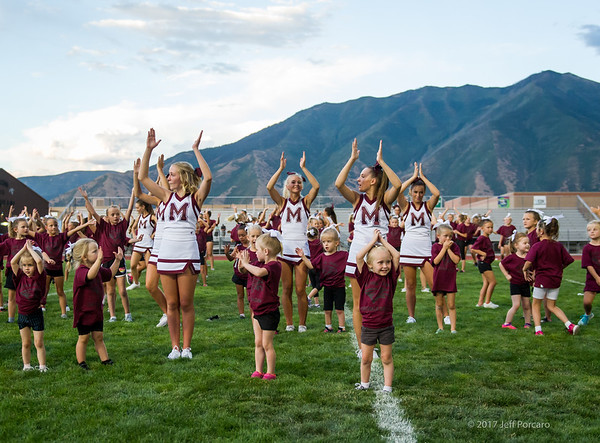 FBL Cheer Maroon and Gold 2017