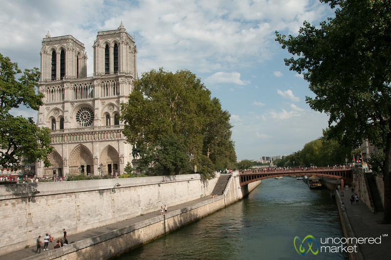 Notre Dame and La Seine - Paris