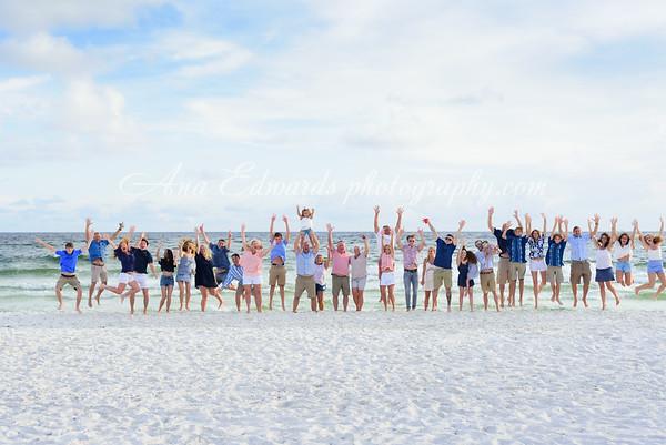 The Thacker-McCoy family     Panama City Beach