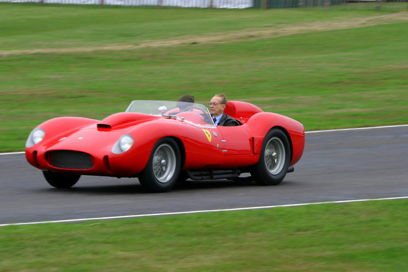 Phi Hill driving at Goodwood Revival - 2006 (1927-2008)