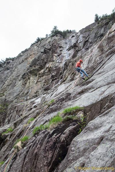 2019-06-01 Climbing in Grimsel area