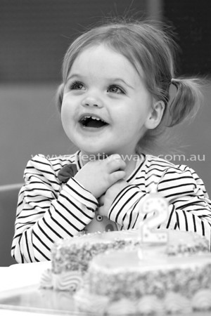 Baby Isla turns 2