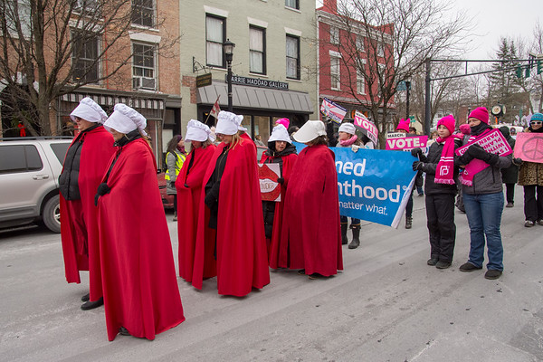 Women March On! Hudson 2019