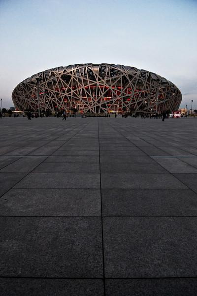 Bird's Nest Stadium Beijing, China — April 2010