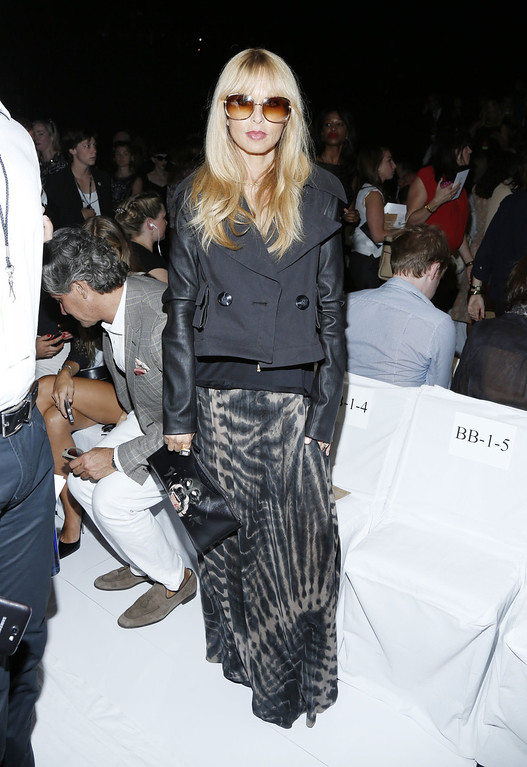 . Rachel Zoe attends the Diane Von Furstenberg fashion show during Mercedes-Benz Fashion Week Spring 2014 at The Theatre at Lincoln Center on September 8, 2013 in New York City.  (Photo by Cindy Ord/Getty Images for Mercedes-Benz Fashion Week Spring 2014)