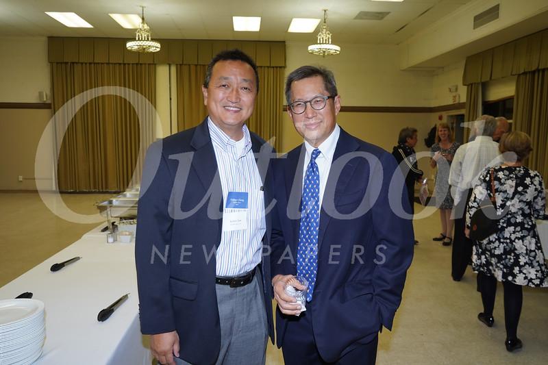 Hunter Chang and Robert Tam