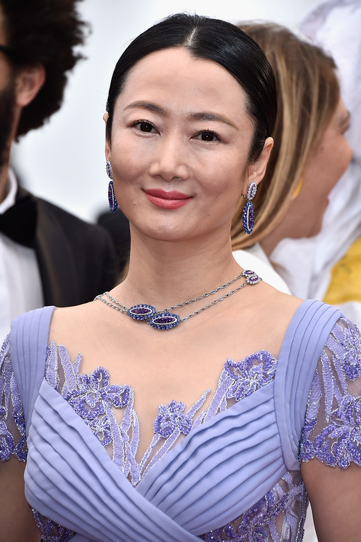 ". Zhao Tao attends the ""Slack Bay (Ma Loute)\"" premiere during the 69th annual Cannes Film Festival at the Palais des Festivals on May 13, 2016 in Cannes, France.  (Photo by Pascal Le Segretain/Getty Images)"