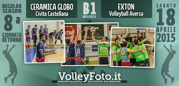 Ceramica Globo Junior Volley Civita Castellana - Exton Volleyball Aversa
