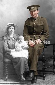 Colourised WW1 photos