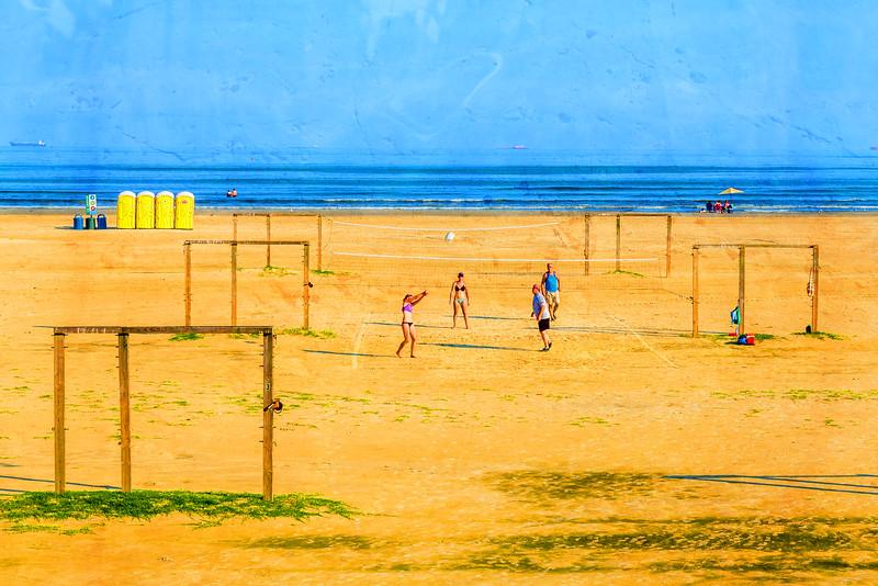 Volleyball at Stewart's Beach