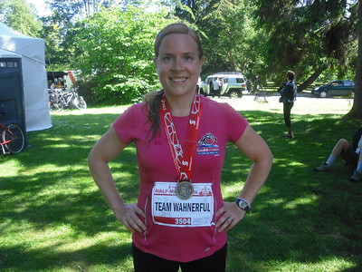 June '11: My 1st Half Marathon!
