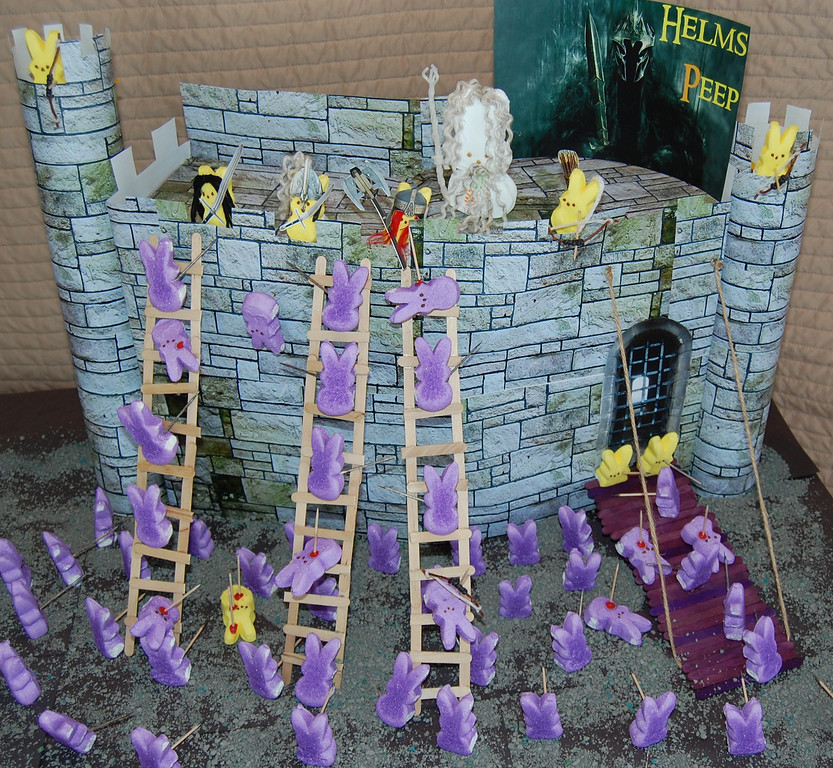 ". ""Lord of the Rings: Helms Peep,\"" by Rebecca McComas, Woodbury"