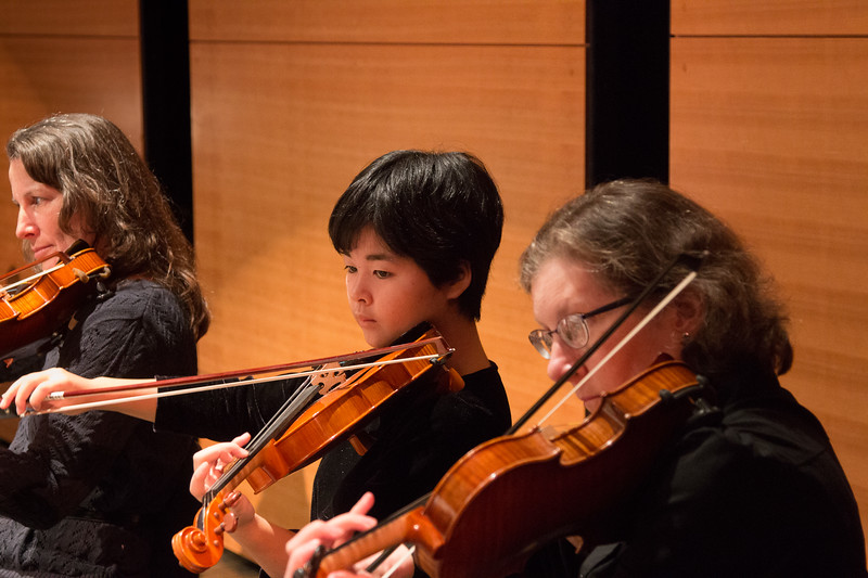Sharon Jollie, Mizuki Hanada, & Nancy Fleming -- Symphony of the Potomac, January 29, 2017