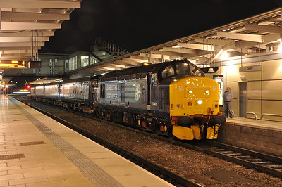37405 and 37425 working Crewe - Derby. 25/08/13.