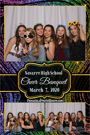 Navarre High School Cheerleading Banquet 3-7-2020