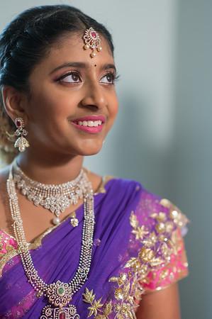 Priyanka's Half Saree