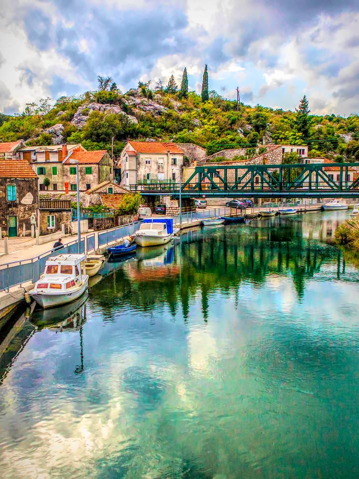 克罗地亚旅途,乡村小城