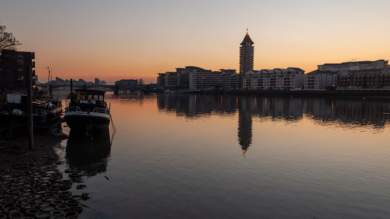 Imperial Wharf sunset
