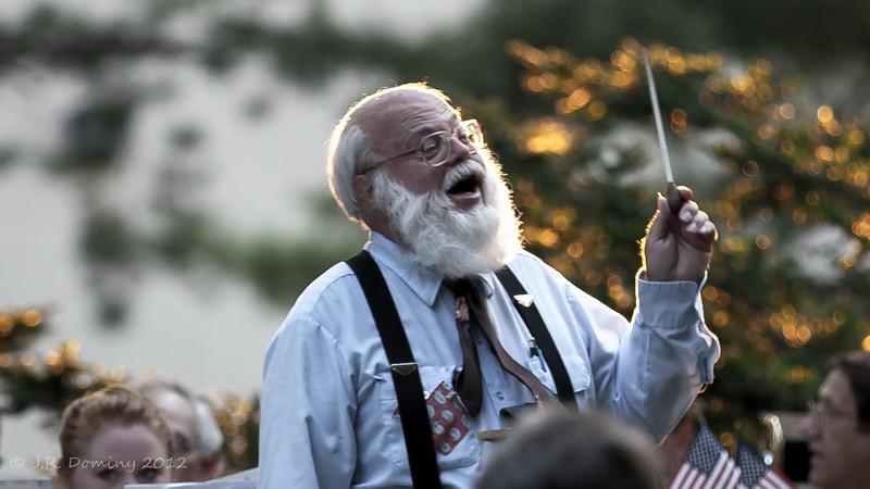 Conductor, Pitman Hobo Band - Wenonah 4th of July 2012