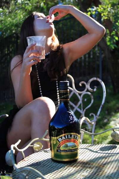 """Product shot-Baileys """" You want to be her slave"""""""