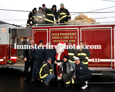 Hicksville FD  Holiday Safety Awarness Day 11-30-08