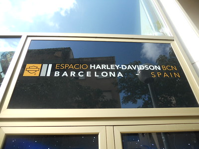 Rod Bartunek visit to Harley in Barcelona