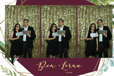 MIRROR BOOTH: Ben and Lorna's Anniversarry