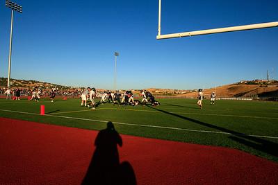 Vista Freshman Football 09/09/2010
