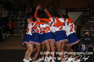 10-21-2010 Watkins Mill HS JV Cheerleading, Photos by Jeffrey Vogt Photography