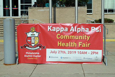 84th GCM - Health Fair/Community Service Project