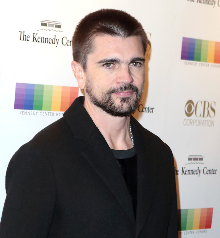 . Juanes attends the 39th Annual Kennedy Center Honors at The John F. Kennedy Center for the Performing Arts on Sunday, Dec. 4, 2016, in Washington, D.C. (Photo by Owen Sweeney/Invision/AP)