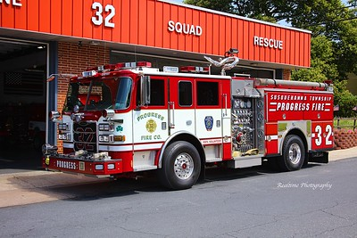 Apparatus Shoot - Progress Fire Company - 06/28/2020