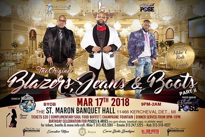 St. Maron Banquet Hall 3-17-18 Saturday