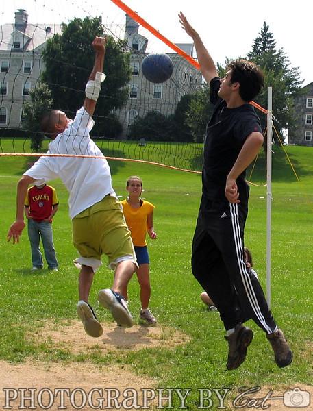 7-31-2005 Volleyball: Japanese School v. French School