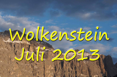Sommerurlaub in Wolkenstein