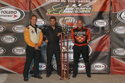 MSA Super Modifieds and AVSS Super Sprints, Toledo Speedway, Toledo, OH, June 15, 2012